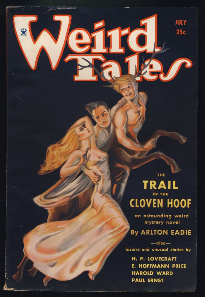 Through the Gates of the Silver Key in Weird Tales July 1934. H. P. Lovecraft, E. Hoffmann Price.