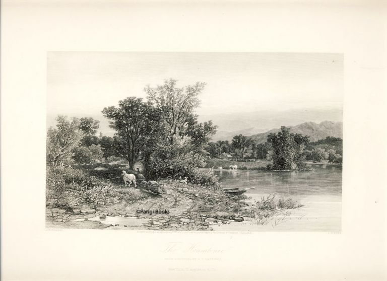 The Housatonic. Steel Engraving from a Painting by A. F. Bellows. A. F. Bellows, S. V. Hunt.