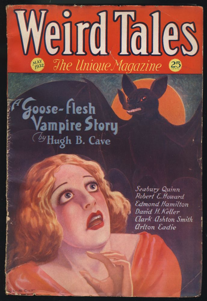 The Horror from the Mound in Weird Tales May 1932. Robert E. Howard.