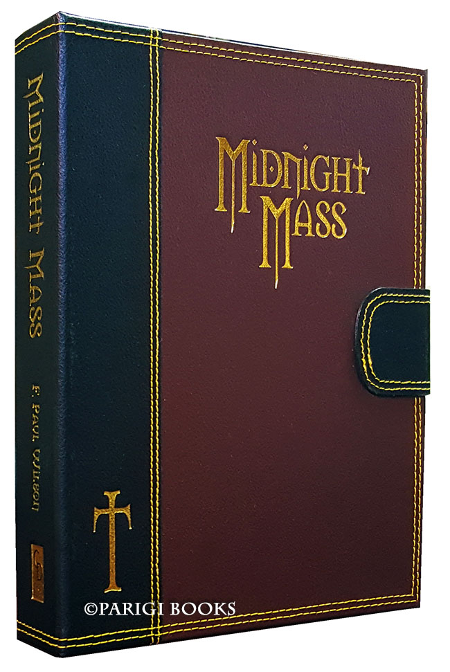 Midnight Mass. (Traycased Leather Bound Lettered Edition). F. Paul Wilson.