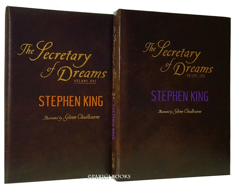 The Secretary of Dreams. (Signed Traycased Limited Edition Set with Matching Numbers). Stephen King.