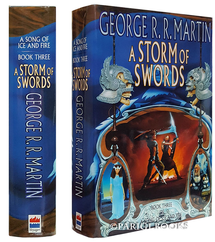 A Storm of Swords: Book Three of A Song of Ice and Fire. George R. R. Martin.