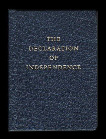 The Declaration of Independence. United States.