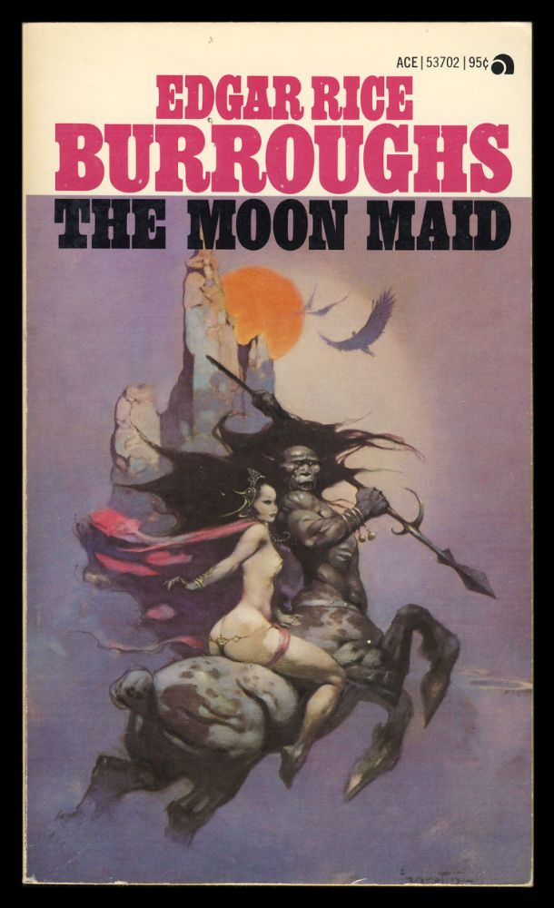 The Moon Maid. Edgar Rice Burroughs.