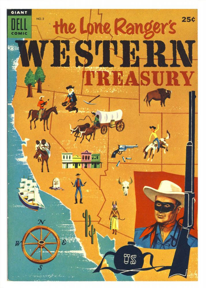 The Lone Ranger's Western Treasury No. 2. Various Authors.