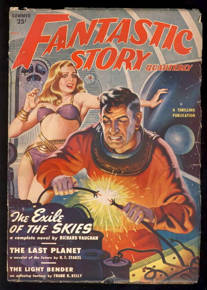 The Moon and Mr. Wick in Fantastic Story Quarterly Summer 1950. Jack Williamson.