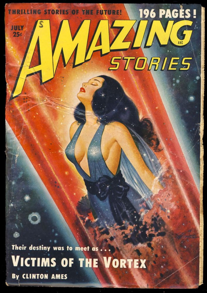 The Man in the Moon in Amazing Stories July 1950. Mack Reynolds.