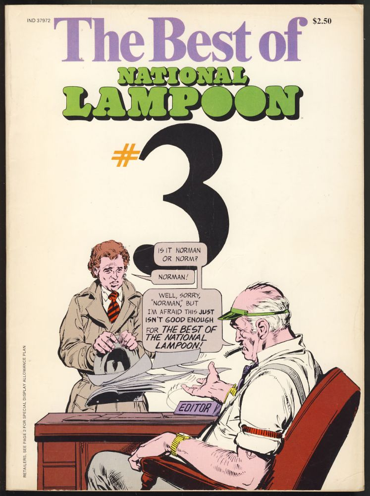 The Best of National Lampoon No. 3. Henry Beard, Tony Hendra, eds., Frank Frazetta, Neal Adams, Edward Gorey.