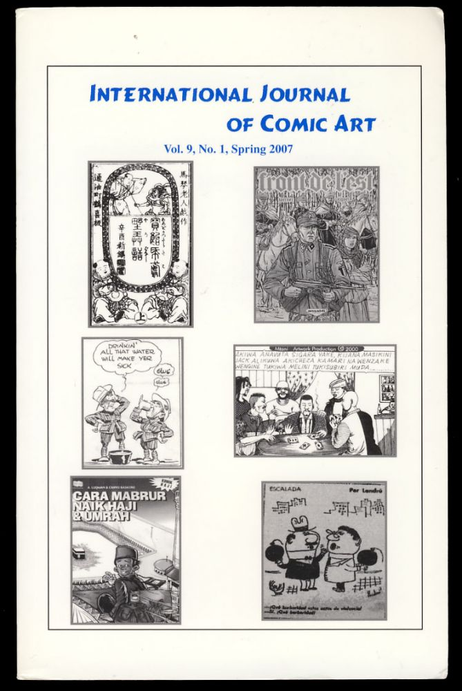 International Journal of Comic Art Spring 2007. John A. Lent, ed.