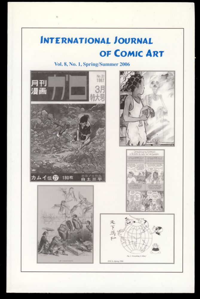 International Journal of Comic Art Spring/Summer 2006. John A. Lent, ed.