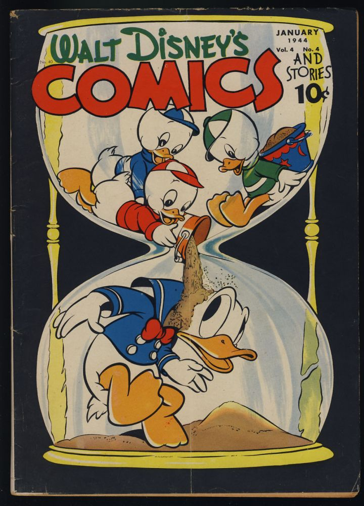 Walt Disney's Comics and Stories #40. Carl Barks, Al Taliaferro, Floyd Gottfredson, Walt Kelly.