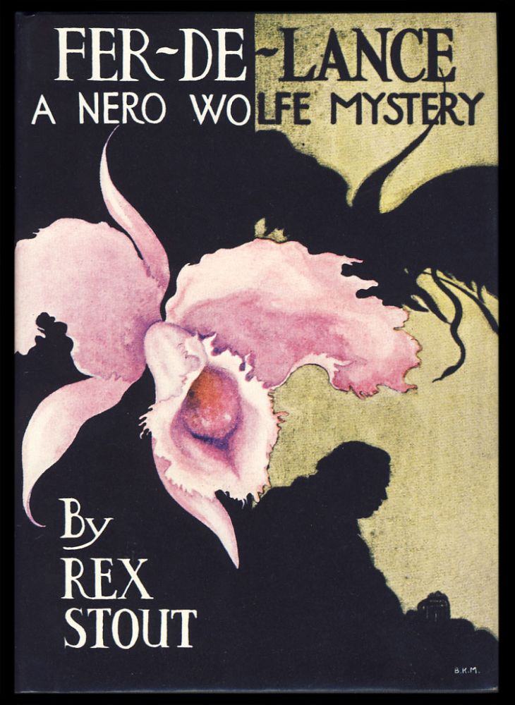Fer-de-Lance: A Nero Wolfe Mystery. (First Edition Library Facsimile). Rex Stout.
