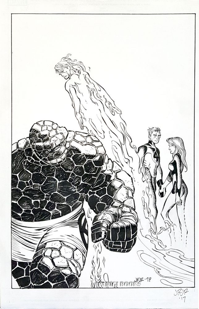 John Romita, Jr. Fantastic Four (2014) #3 Original Cover Art. John Romita, Jr.