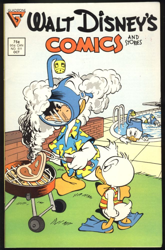 Walt Disney's Comics and Stories Fifty-Five Issue Run. (#511 to 566). Carl Barks, Don Rosa, William Van Horn.