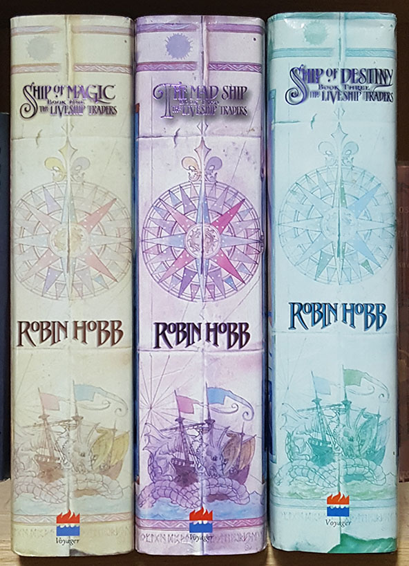 The Liveship Traders Complete Trilogy. (Ship of Magic. The Mad Ship. Ship of Destiny.). Robin Hobb.