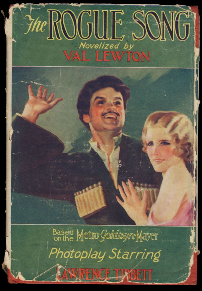 The Rogue Song. (Photoplay Edition). Val Lewton.