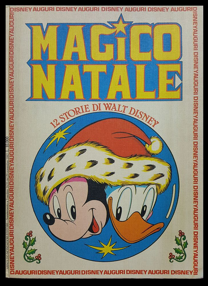 Magico Natale. (Twelve Disney Stories). Carl Barks, Luciano Bottaro, Tony Strobl.