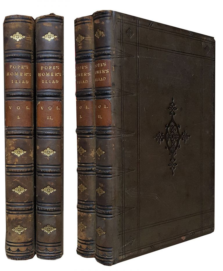 The Iliad of Homer, Translated by Alexander Pope. With an Introduction and Notes, by the Rev. Theodore Alois Buckley, M. A., F. S. A., with Flaxman's Designs, and Other Engravings. In Two Volumes. Homer.