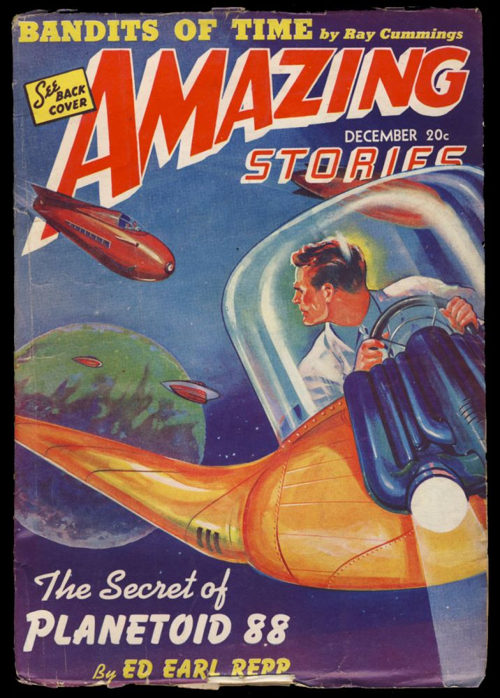The Secret of Planetoid 88 in Amazing Stories December 1941. Ed Earl Repp.