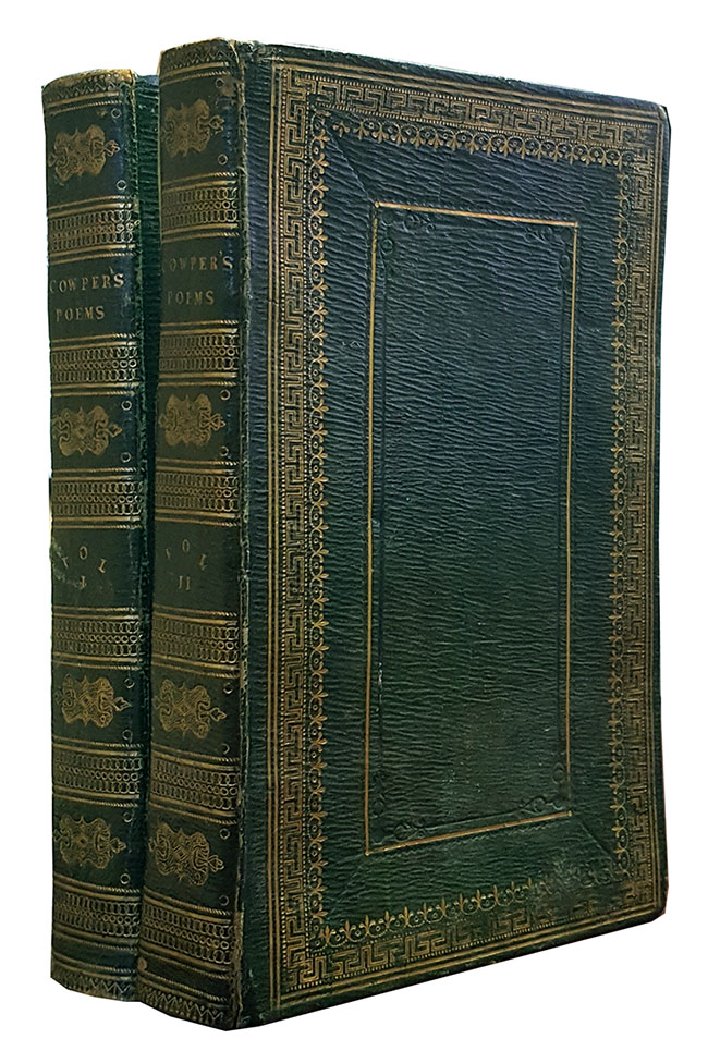 Poems. In Two Volumes. William Cowper.