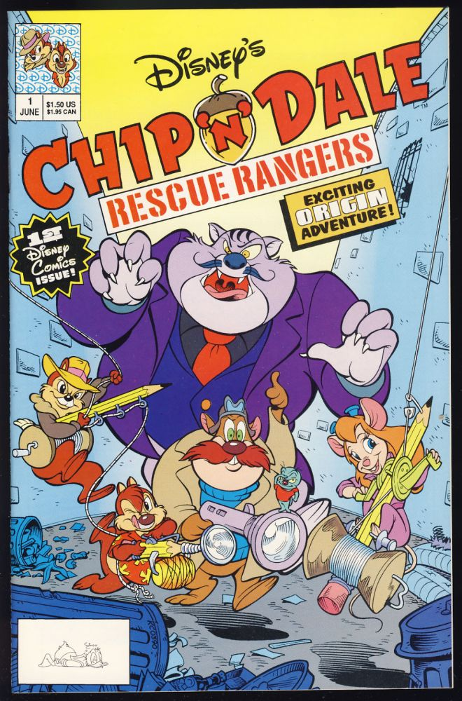 Chip 'n' Dale Rescue Rangers Complete Nineteen Issue Series. Authors.