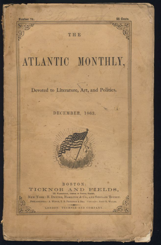 The Man Without a Country in The Atlantic Monthly December 1863. Edward Everett Hale.