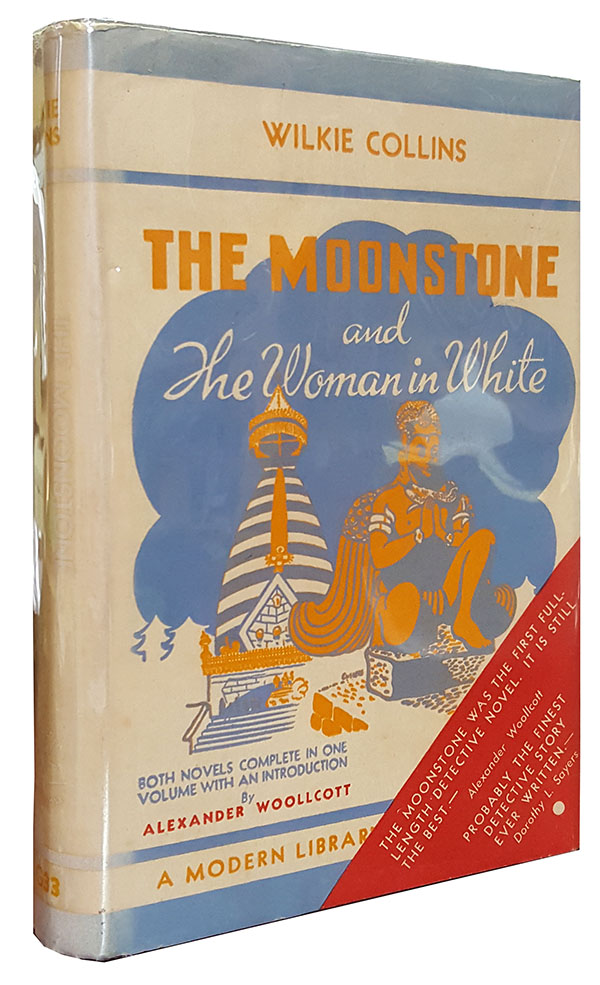 The Moonstone and The Woman in White. Wilkie Collins.