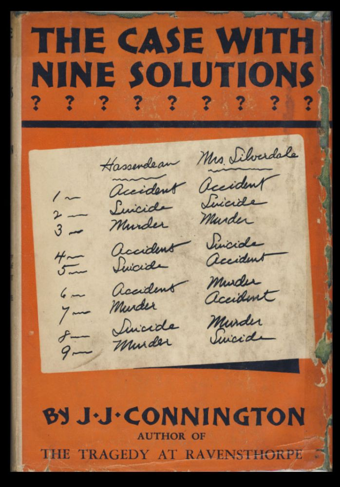 The Case with Nine Solutions. J. J. Connington, Alfred Walter Stewart.