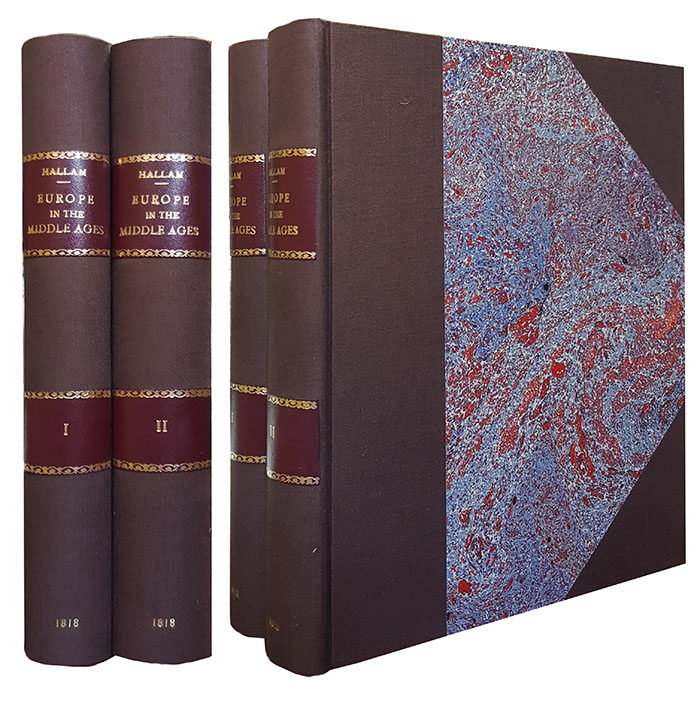 View of the State of Europe During the Middle Ages. In Two Volumes. Henry Hallam.
