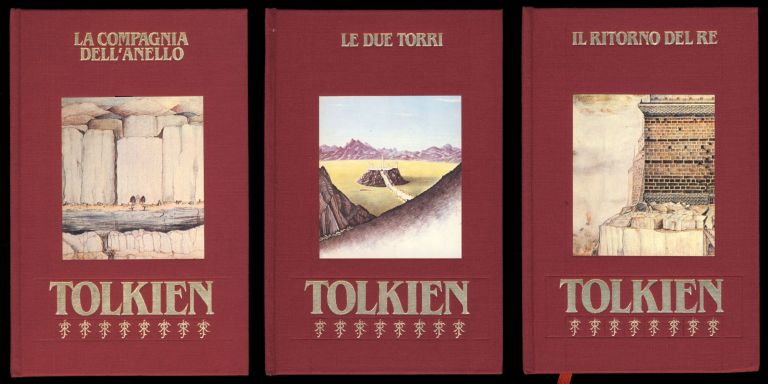 Il signore degli anelli. (The Lord of the Rings Complete Trilogy.). J. R. R. Tolkien.