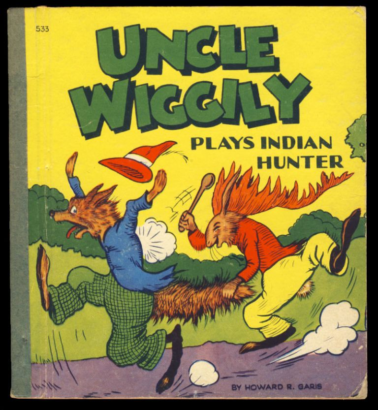 Uncle Wiggily Plays Indian Hunter, or, How Nurse Jane Thought It Very Funny to See an Indian Feathered Bunny and How the Fox Thought They Would Spoil the May Party, also, How Uncle Wiggily Played the Hose on His Garden. Howard R. Garis.