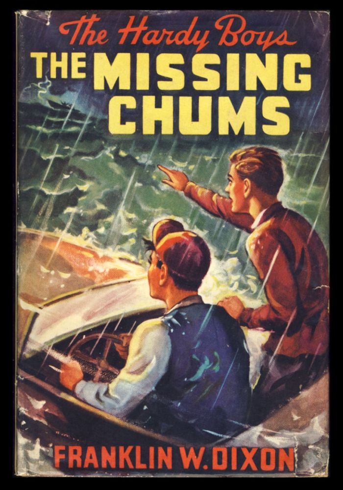 The Hardy Boys #4: The Missing Chums. Franklin W. Dixon.
