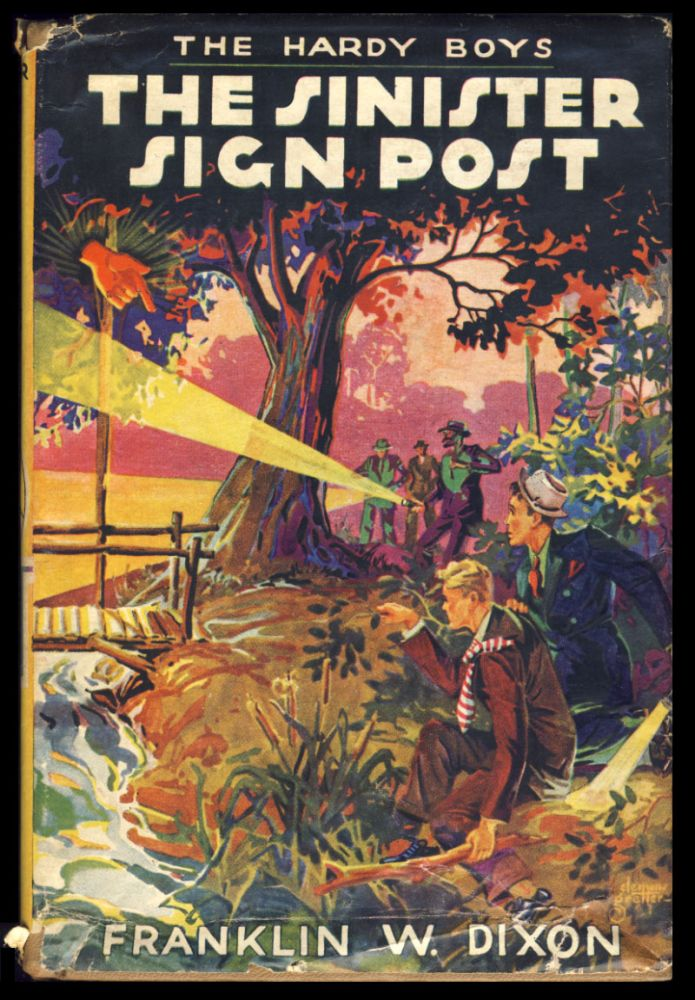 The Hardy Boys #15: The Sinister Sign Post. Franklin W. Dixon.