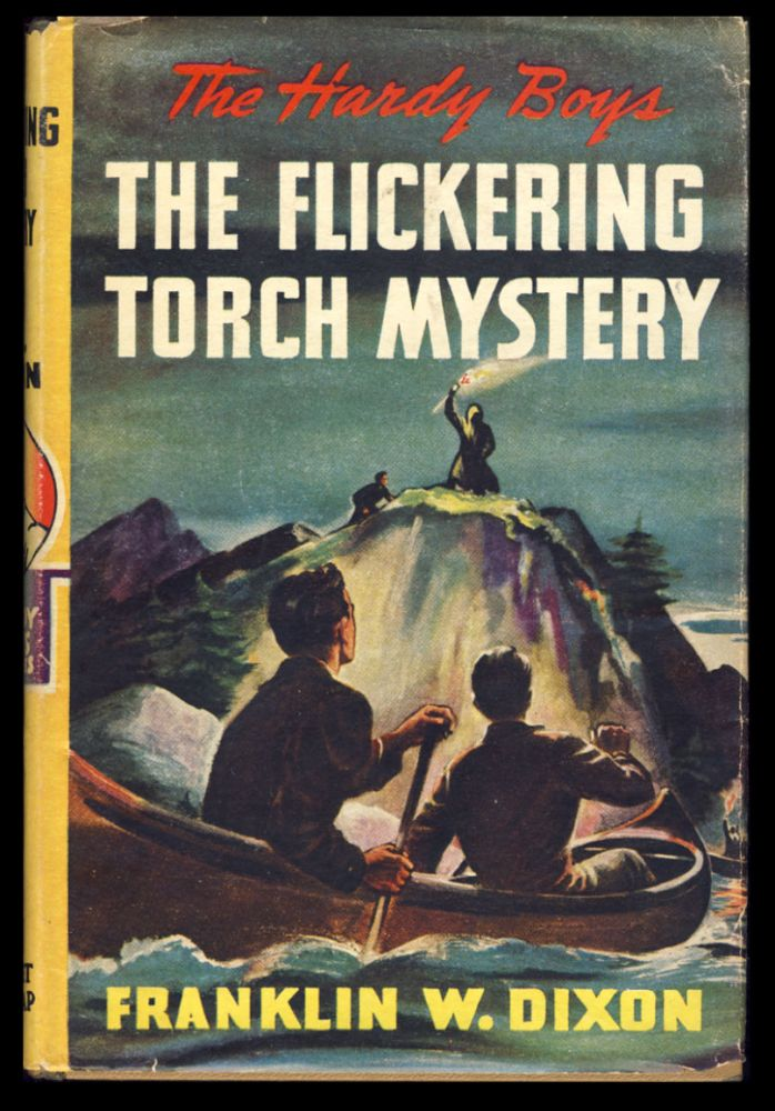 The Hardy Boys #22: The Flickering Torch Mystery. Franklin W. Dixon.