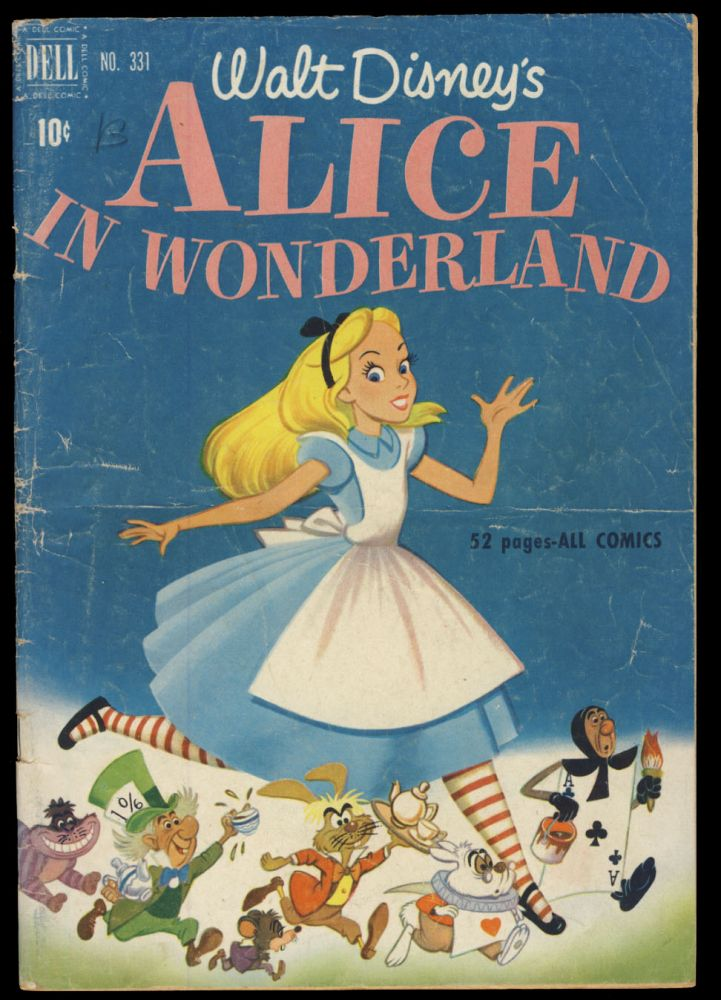 Four Color #331 - Walt Disney's Alice in Wonderland. Bob Grant, Del Connell.