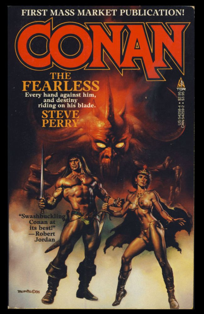 Conan the Fearless. Steve Perry.