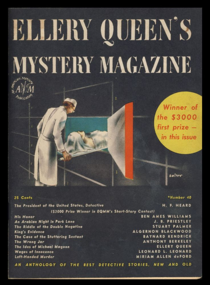 Ellery Queen's Mystery Magazine March 1947. Ellery Queen, Ed.
