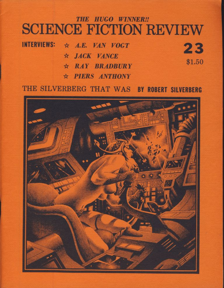 Science Fiction Review Twenty-Eight Issue Run. Richard E. Geis, ed.