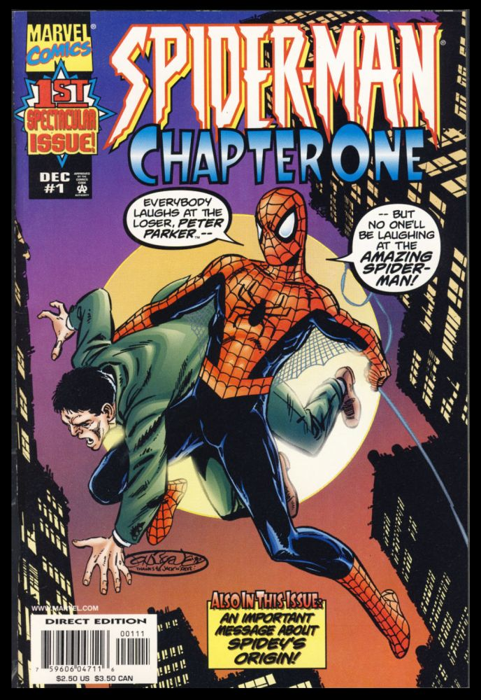 Spider-Man Chapter One Complete 13-Issue Maxi-Series. John Byrne.
