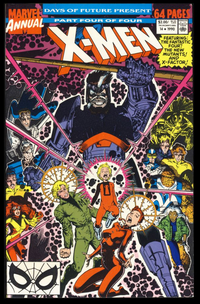 The X-Men Annual #14. (Days of Future Present Part 4 of 4). Chris Claremont, Arthur Adams.