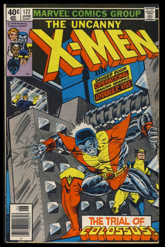 X-Men #122. (Newsstand Edition). Chris Claremont, John Byrne.