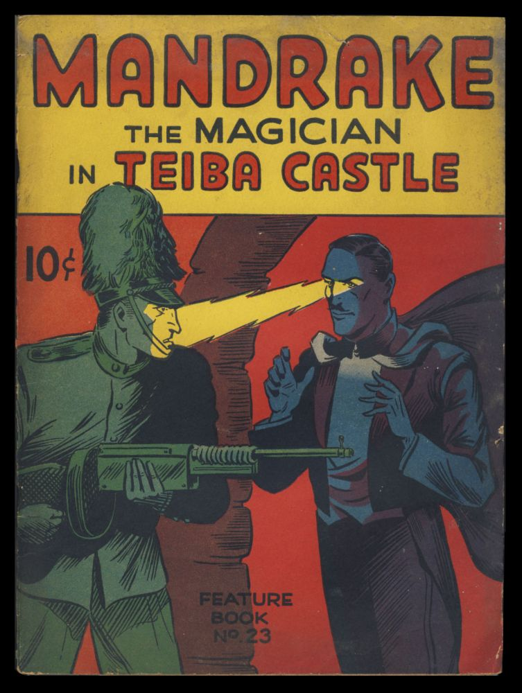 Mandrake the Magician in Teiba Castle. Lee Falk, Phil Davis.