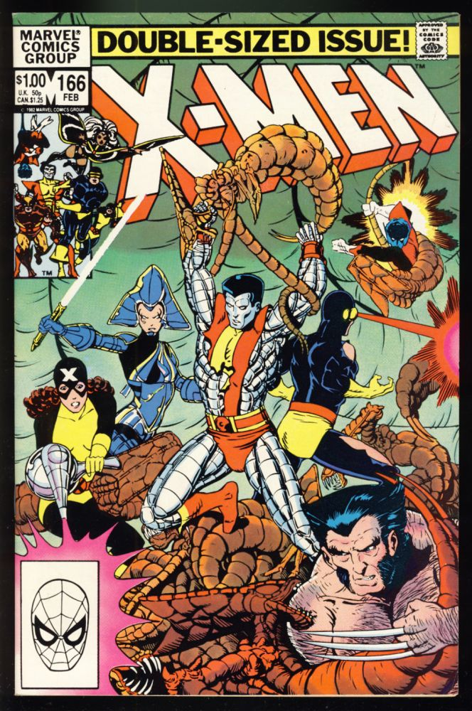 The Uncanny X-Men #166. Chris Claremont, Paul Smith.