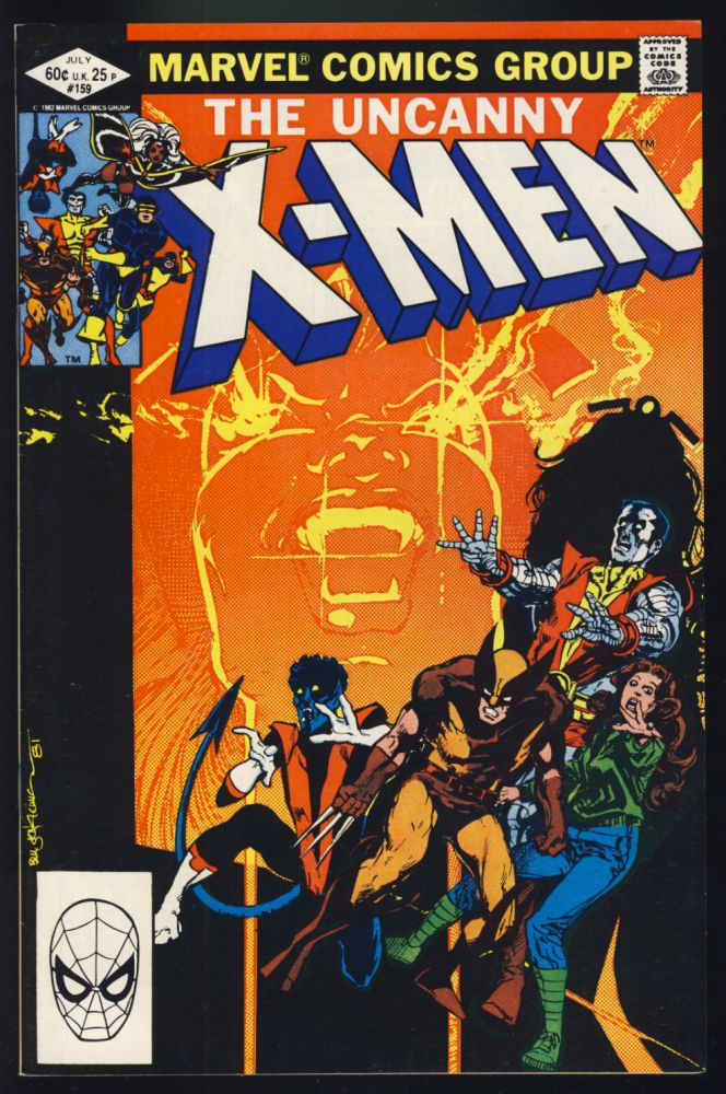 The Uncanny X-Men #159. Chris Claremont, Bill Sienkiewicz.