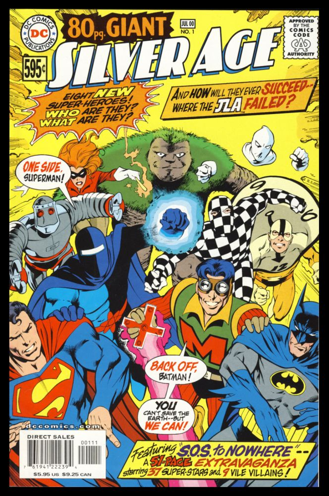 Set of Eleven DC Silver Age Issues. Authors.