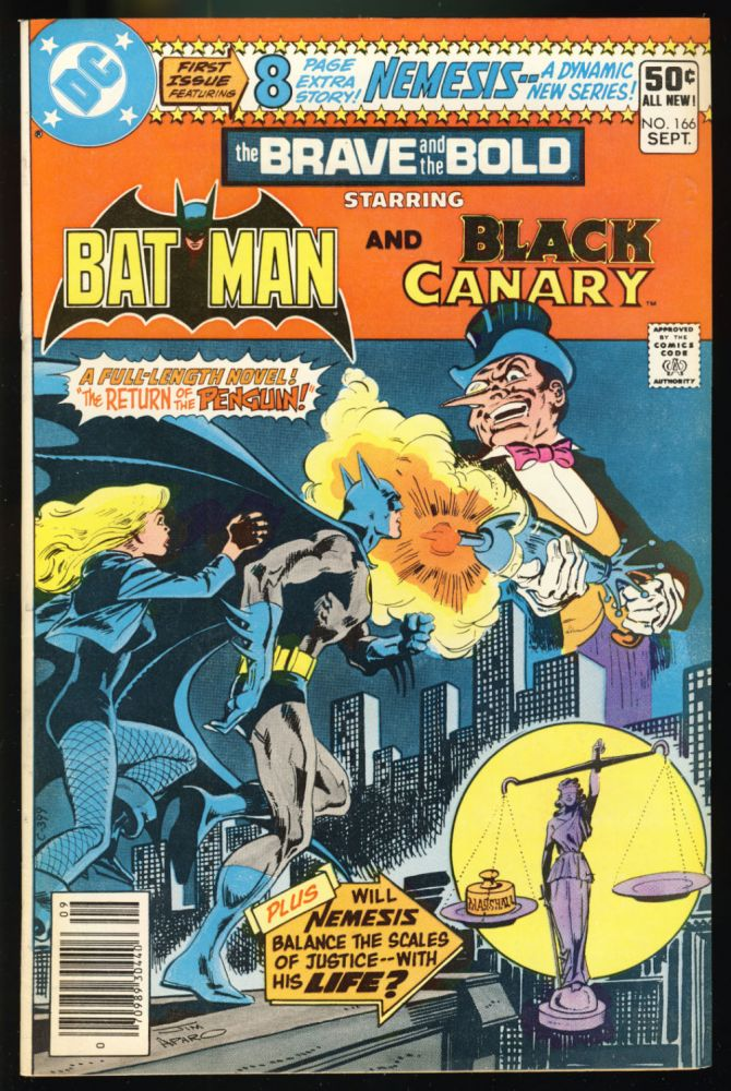The Brave & and the Bold #166. Michael Fleisher, Dick Giordano.