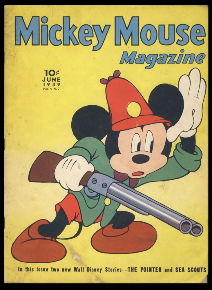 Mickey Mouse Magazine June 1939. Authors.