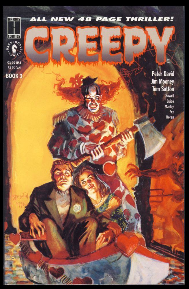 Creepy: The Limited Series Book 3 and 4. Peter David.