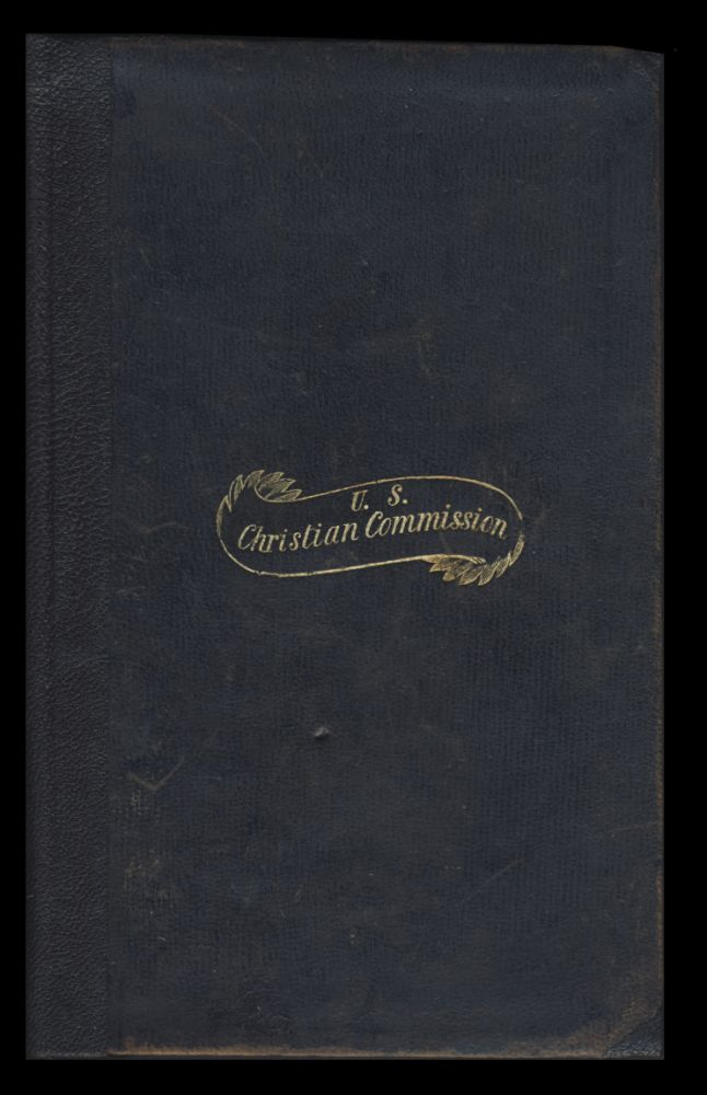 United States Christian Commission Handwritten Civil War Diary by Reverend James Hoyt of the First Presbyterian Church of Orange, NJ. James Hoyt.