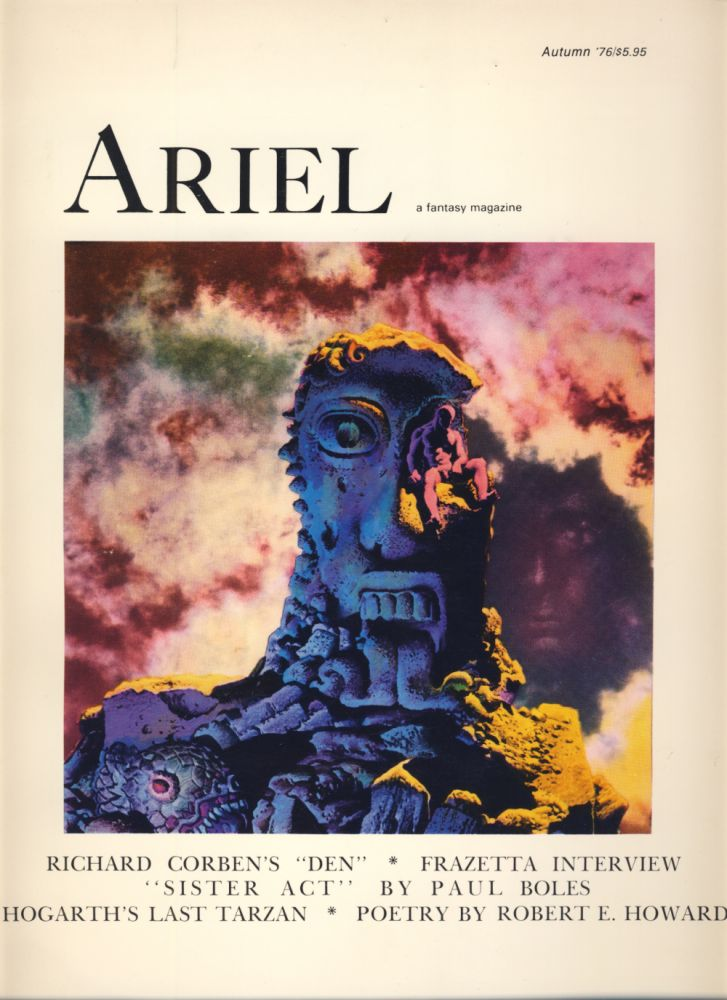 Ariel - The Book of Fantasy Volumes 1, 3 and 4. Thomas Durwood, ed.